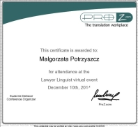 Lawyer Linguist virtual event